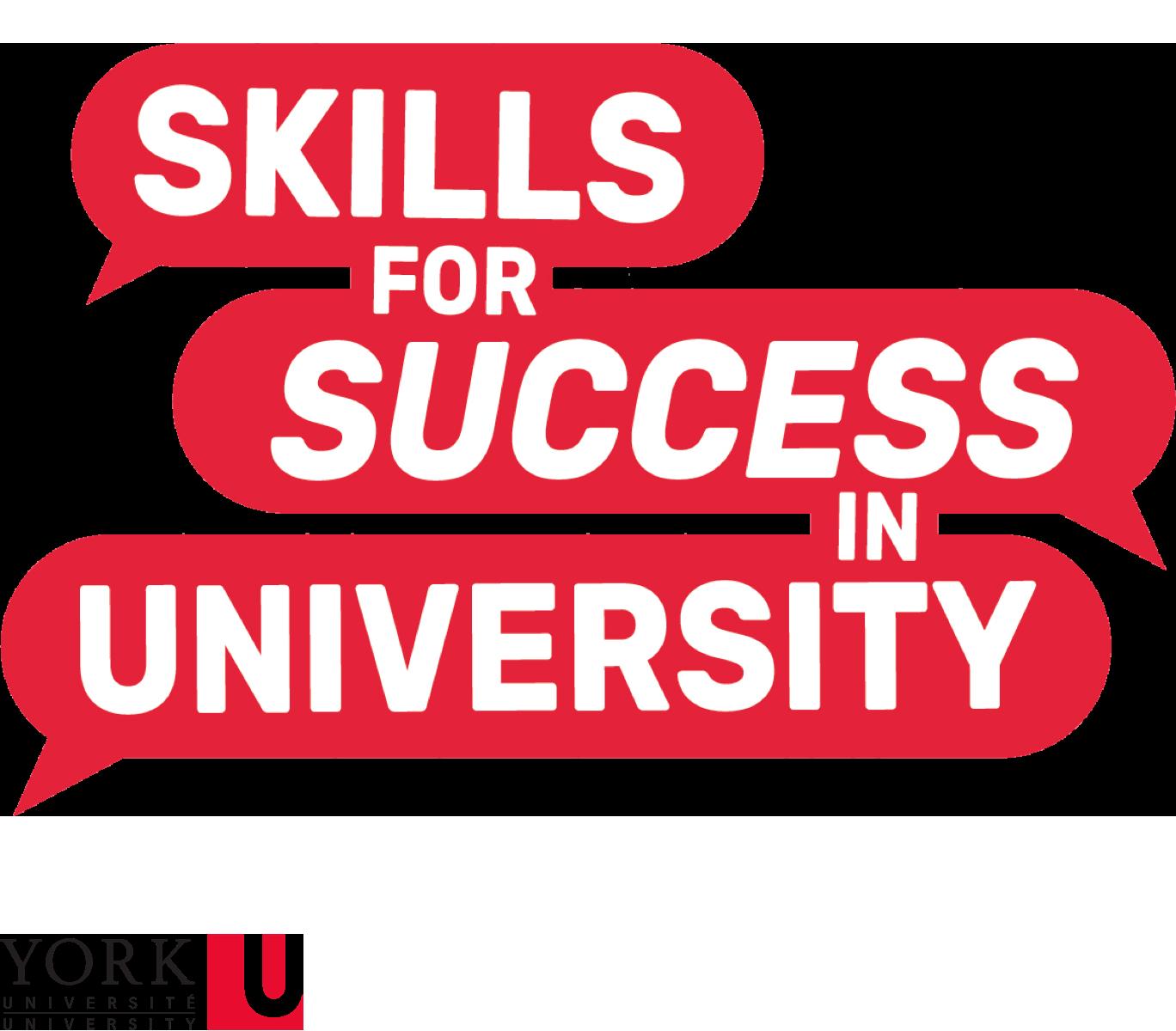 Skills for Success in University