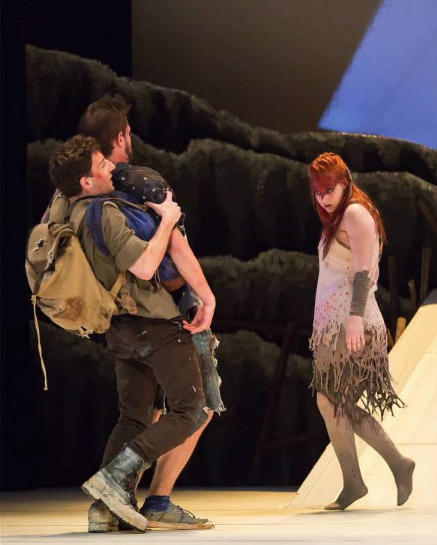 Photos from Theatre@York's 2016 pan-faculty production of The Birds.
