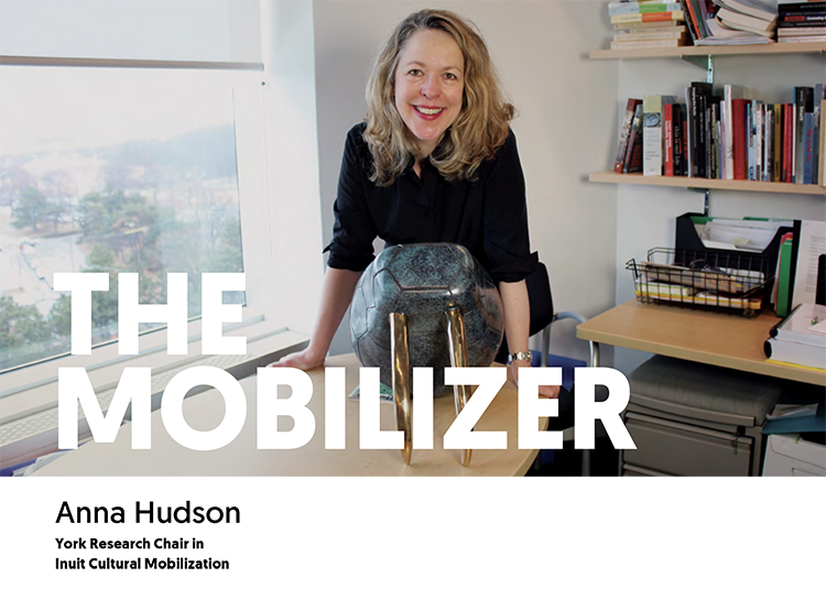 The Mobilizer - Anna Hudson